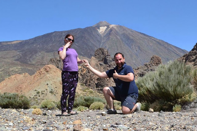 Engagement Mount Teide Tenerife