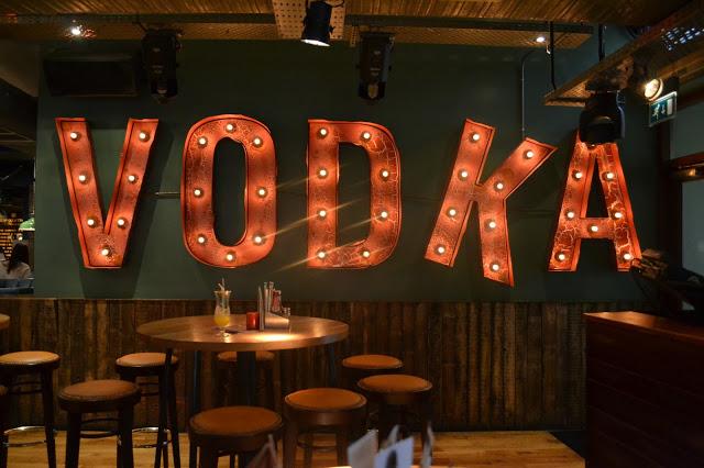 revolution aberdeen vodka sign