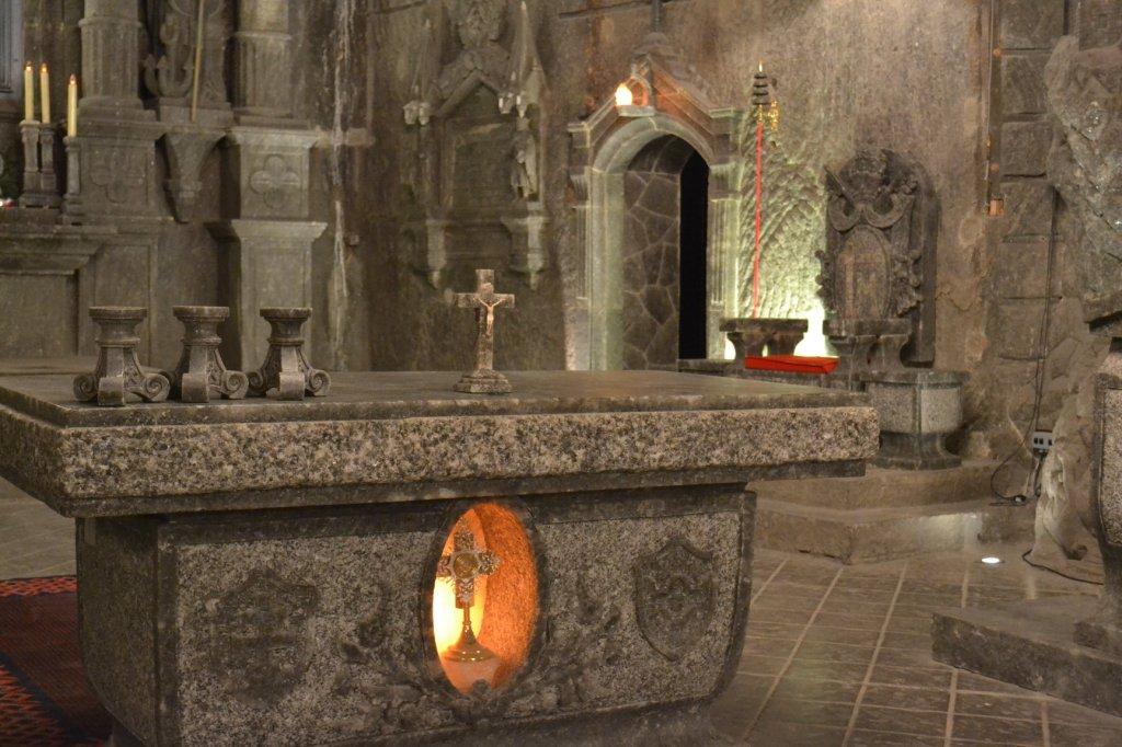St Kinga's Chapel in the Wieliczka Salt Mine